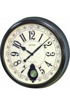 408e8aa292ec RHYTHM REF-CMJ504NR06. Reloj pared con numeración analógica y pendulo.